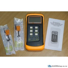 Digital Thermometer 2ch Type K thermocouple