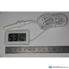Small Thermo-Hygrometer measures humidity and temperature