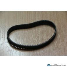 Timing Belt Loop GT2 6 x 150mm Black Neoprene Rubber