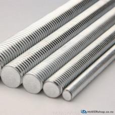 M8 Threaded Rod Zinc Plated Steel