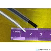 PFA Tube OD=4mm, ID=2mm (per 100mm)